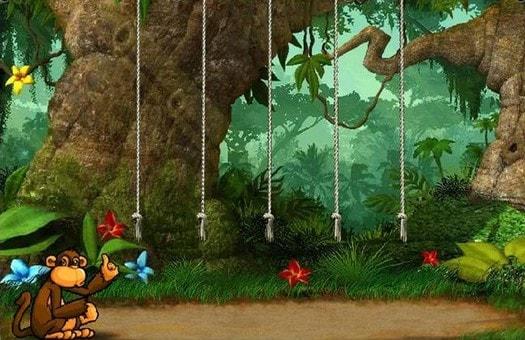 Бонусна гра автомата Crazy Monkey 2