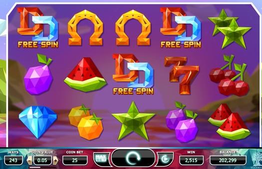 Виграш фріспінів в ігровому автоматі Doubles