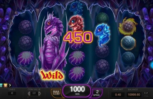 Дикі символи в ігровому автоматі Draglings