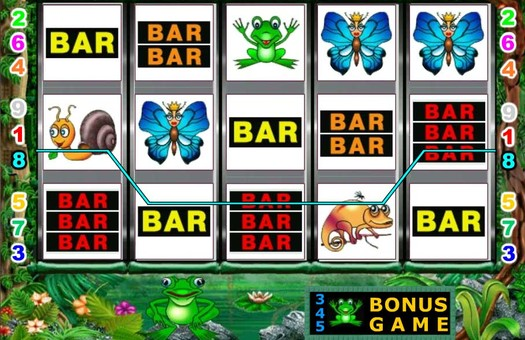 Комбінація піктограм на барабанах ігрового автомата Fairy Land 2