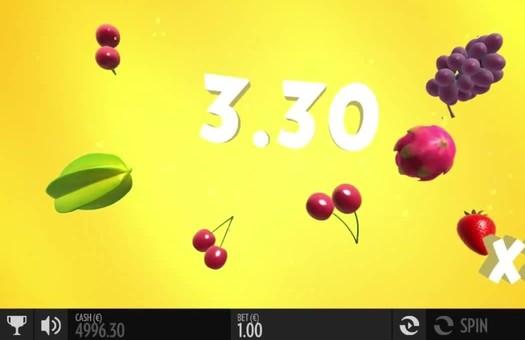 Крупний виграш в ігровому автоматі Fruit Warp