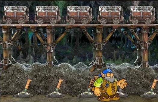 Бонусний режим ігрового автомата Gnome