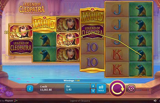 Ігровий автомат клеопатра грати