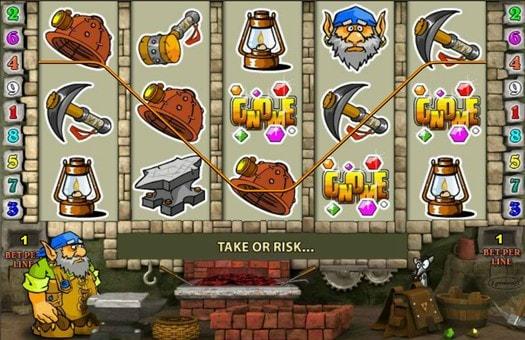 Комбінація символів онлайн автомата Gnome