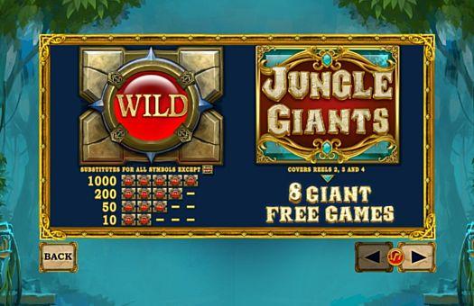 Опис додаткових символів в онлайн слоті Jungle Giants